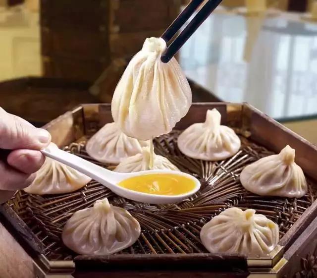 西安風味小吃-灌湯包