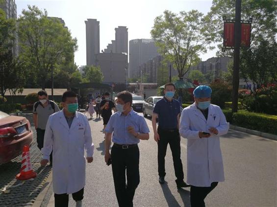 市卫生健康委党委书记、主任刘顺智督导5.1假期疫情防控、健康扶贫、安全生产等重点工作