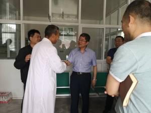 市卫生健康委主任刘顺智指导调研蓝田县健康扶贫工作