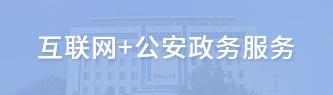 互联网+公安政务服务