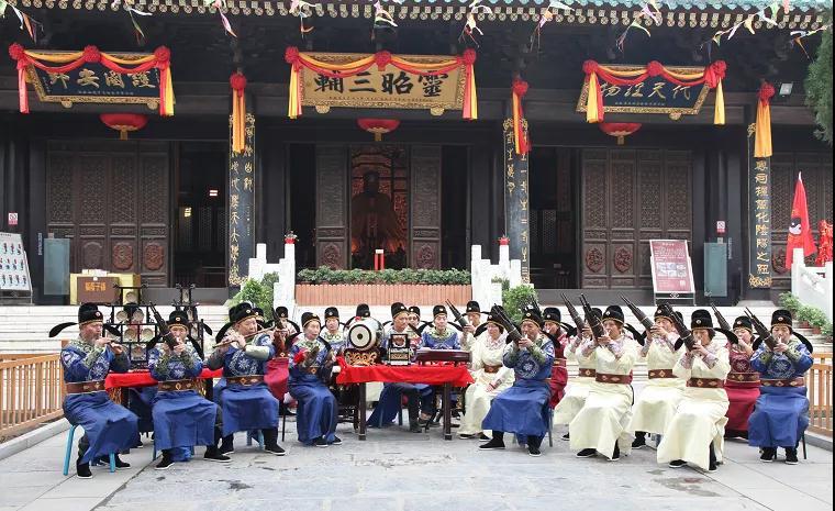 莲湖非遗传承   西安鼓乐——笙管鼓钹里的千年遗韵