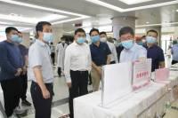 徐明非副市长调研督导卫生健康系统扫黑除恶专项整治工作