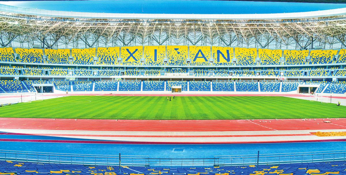 西安奥体中心获国际田联一级场地认证 成为西北五省首个获此认证场地