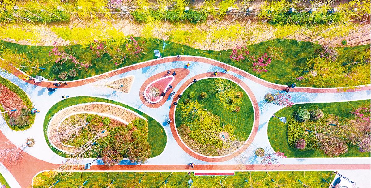 西安市见缝插绿 打造15分钟便民休闲圈